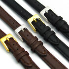 Ladies Soft Leather watch Band Choice of color 8mm 10mm 12mm 14mm