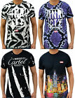 Mens Designer Innercity Casual T-Shirt Pretty Boy Street Graphic Printed Top Tee