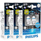 Philips Xtreme Vision 360 LED W5W 501 T10 Car Bulbs 4000K 6000K 8000K (Twin)