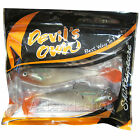 Shakespeare Devils Own Shad Soft Fishing Bait Lure