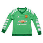 adidas Manchester United 2015/16 Kids Goalkeeper Replica Jersey Green