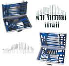 Pro Chef Cutlery 21pc Knife Set  & Case SLITZER Germany Stainless Steel Knives