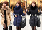 #17 New Women Clothing White Duck Down Duvet Feathers Coats Fur Collar Jackets