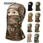 Camouflage Balaclava Full Face Mask Tight Head Cover Motorcycle Winter Windproof