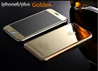 NEW 9H Golden Front and Back Tempered Glass Screen Protector Cover for iPhone 6