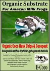 AMAZON MILK FROG BEDDING, SUBSTRATE, SOIL - FOR AMAZON MILK FROGS TERRARIUM