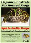 HORNED FROG BEDDING, SUBSTRATE, SOIL - FOR HORNED FROGS TERRARIUM, HABITAT