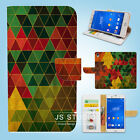 Sony Xperia Z2 Z3 Print Flip Wallet Case Cover Cool Abstract W122