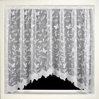 Hawaii Delicate Butterfly & Floral print net curtain Jardiniere