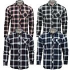 Mens Flannel Check Shirt by Tokyo Laundry Long Sleeved
