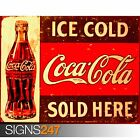 COCA COLA RETRO (1031) Photo Picture Poster Print Art A0 A1 A2 A3 A4 £6.25  on eBay