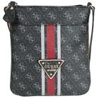 Guess College Logo Petite Crossbody Top Zip SG617170 Damen Umhängetasche 20x22x1