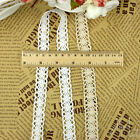 20m White Ivory Vintage Wedding Bridal Cotton Crochet  Lace Trim Ribbon Craft
