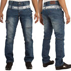 Mens Designer Eto Jeans Regular Fit Straight Leg Denim Pants Trousers Funky All