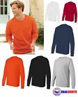 Hanes - Tagless® Long Sleeve T-Shirt with a Pocket Authentic- 5596 S-3XL NEW