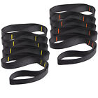 2x1.5m Nylon Hanging Straps Belts Hanging Hammock Extent Belt Tree Swing 350bls