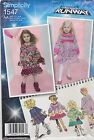 Simplicity Sewing Pattern 1547 Toddlers' Child's Project Runway Dress New UNCUT