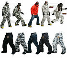 New Southplay Mens Winter Premium Ski-Snowboard Total Military Pants Collection