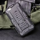 ShockProof Heavy Duty Defender Holster Belt Clip Case Cover For iPhone 5S 6 Plus