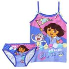 BNWT GIRLS LICENSED SPORTY DORA SET UNDERWEAR + SINGLET TOP SIZE 2-3 or 4-6 NEW