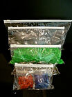 ZIPLOCK BAGS ZIP SEAL LIGHT CLEAR WHITE TOP PLASTIC POLYBAGS 6 SIZES BUY 10 -100