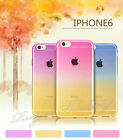Colorful Clear Silicone Soft Case Cover For Apple iPhone & Samsung Galaxy Models