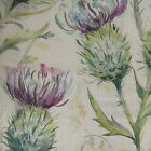 Voyage Decoration Country Thistle Glen Floral Designer Curtain Fabric - Spring