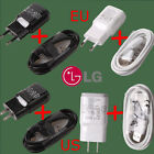 Genuine 5V-1.8A Travel Charger Charging Adapter+Cable For LG G4 G3 G2 Nexus 4 5