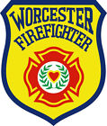 Worcester Firefighter Window Decal - Multiple Sizes available, free shipping