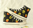 Free Shipping! Pure Hand-painted Art Canvas Shoes fit for Childrens Girls Boys