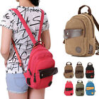 Women Cute Cavnvas Small Mini Sling Baackpack Rucksack Casual Travel Purse Gift