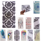 Back Pattern Soft TPU Silicone Light Thin Case Cover Skins Sony Xperia Phone New