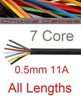 7 Core Automotive Cable Towing Trailer Cable Thinwall Multicore Heavy Duty 12v
