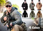 Tactical Ranger Hoodie Softshell Thermal Fleece Polar Jacket TAD Airsoft Coat