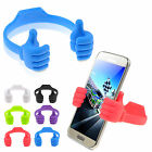 Hot Universal TPU OK Thumb Modeling Stand Holder Mount For Smartphone Tablet