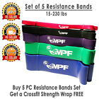 Resistance Bands Loop Crossfit Yoga Pull Up Fitness Exercise Strength Training