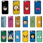 DC Marvel superhero comic Minimal cover case for Apple iPhone - G23