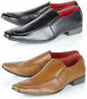 Giovanni Mens Leather Lined Smart Slip On Wedding Formal Party Dress Shoes Size