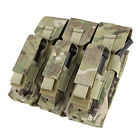Condor MA72-008 MOLLE Triple Kangaroo Mag Pouch holds three 7.62x39 or 5.56 Mags