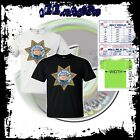 new CHIPS classic TV Shows Movie logo rare mens t-shirt size S to 4XLT cotton