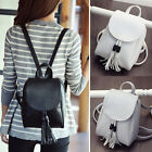 Women's Faux Leather Mini Small Backpack Rucksack Travel Casual Purse Cute bag