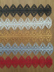 3 Strips Pre Made Edible Cake Lace Decoration Wedding Birthday Choice of Colours