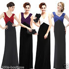 UK Long Formal Evening Prom Party Dress Bridesmaid Dresses Ball Gown Cocktail 6
