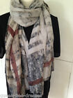 Ladies Scarf Wrap Large Oversized Celebrity  A/W Colours Check  Print