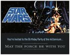 20 Star Wars 2015 STORMTROOPER BIRTHDAY Party INVITATIONS Flat Cards Env