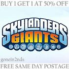 SKYLANDERS GIANTS FIGURES **TRAP TEAM/SWAP FORCE/SUPERCHARGE/IMAGINATORS**