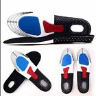Men Gel Orthotic Sport Running Insoles Insert Shoe Pad Arch Support Cushion GL