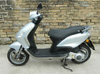 2012 Piaggio Fly 125 Scooter in Silver. 1 owner from new full history