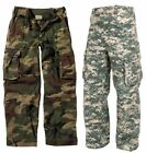 Kids Vintage Paratrooper Fatigue Camo Pants Rothco