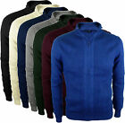 Mens Full zip Jumper Cardigan Sweater 100% Cotton Fine Knit Slim Fit Knitwear